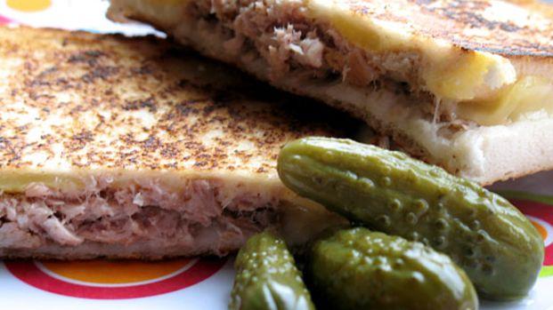 Grilled Tuna & Cheese Sandwich